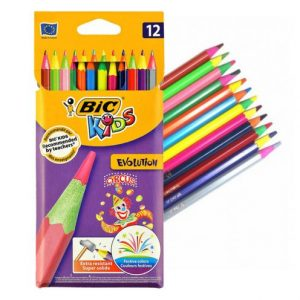 مداد رنگی 12 رنگ بیک