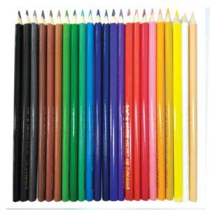 مداد رنگی 24 رنگ جعبه مثلثی پیکاسو