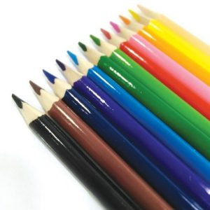 مداد رنگی 12 رنگ جعبه مثلثی پیکاسو