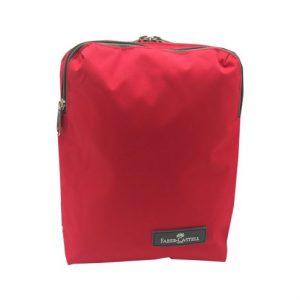 کیف دوشی دو زیپ قرمز فابرکاستل