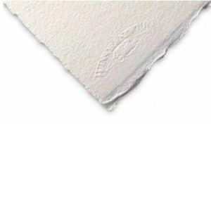مقوا سفید آبرنگ 300 گرم 100%کتان 76*56 وینزور