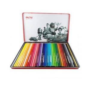 مداد رنگی 36 رنگ فلزی فکتیس
