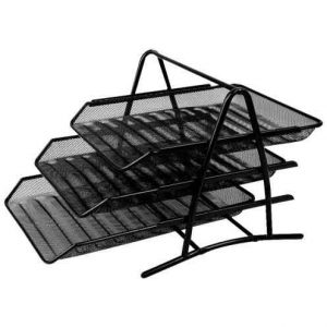 کازیو سه طبقه فلزی مشکی